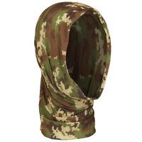 Fascia multiuso cappello scaldacollo sciarpa passamontagna nero MILTEC copricapo