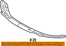 FORD OEM 09-14 F-150-Bumper Spoiler-Valance Panel Lip Chin 9L3Z17626B