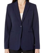 NWT Calvin Klein Women's Single Button Suit Jacket, Twilight, Size 6