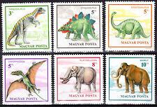 HUNGARY MAGYAR 1990 Prehistoric Animals SET MNH - FREE SHIPPING