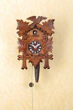 Viertelruf Kuckucksuhr mit 1-Tag-Kettenzugwerk, Nuss, Cuckoo-Clock 619nu