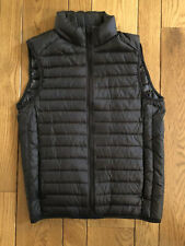 UNIQLO MEN ULTRA LIGHT DOWN VEST BLACK ZIPPERED WITH POUCH SIZE XS NWOT