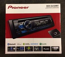 Pioneer DEH-S4120bt AM, FM, CD and Bluetooth. 4-volt front, rear/sub out