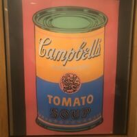 Soup Can Tomato Colored, 1968 by Andy Warhol Art Print Offset Lithograph 24x36