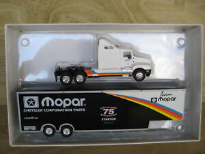 GPM   STANTON RACING TRANSPORTER   Team MOPAR  1/64 scale 1 of only 2004