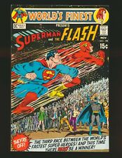 World's Finest Comics # 198 - 3rd Superman/Flash race Fine Cond.
