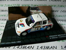 RIT23 voiture 1/43 IXO Altaya Rallye PEUGEOT 205 T16 E1 Vatanen 1984 1000 lacs