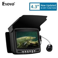 Eyoyo LCD 20M Fish Finder Night Vision Camera 8PCS Infrared LEDS Lamp Control