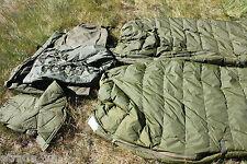 ORIGINAL BW KSK SCHLAFSACK WINTER SACK OLIV OUTDOOR CAMPING ANGELN NATO 5 TLG