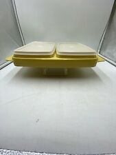Vintage Tupperware 5 Piece Divided Dish