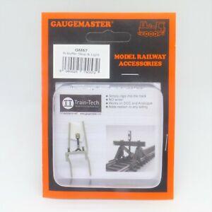 Gaugemaster N Gauge Buffer Stop with Light (GM57) - Brand New