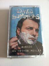 HOMBRES G DAVID SUMMERS BASADO EN HECHOS REALES CASSETTE PRECINTADA UNICA EBAY!