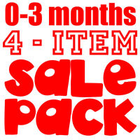 SALE PACK of 4 items for 0-3 months Baby, Star Trek Fan Trekkie Clean up Scotty