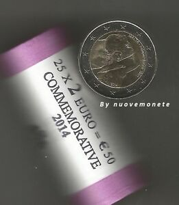 """MALTA 2 EURO COMMEMORATIVE 2014  """"50 YEARS INDEPENDENCE 1964-2014""""  UNCIRCULATED"""