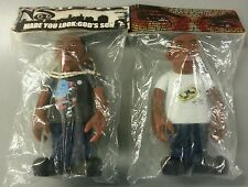 Set of 2 Nas Action Figures Run DMC Notorious BIG Funko Pop Eminem HOLY GRAIL!!
