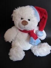 Bob der Bär Nikolaus Teddy Eis Bär weiß 21 cm Plüschtier Stofftier Kuscheltier