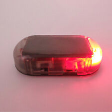 Car Alarm LED Light Solar Security Warning Dummy System Flashing Light Red New