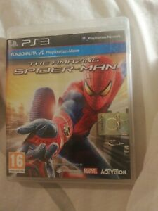 THE AMAZING SPIDERMAN PS3 PAL ITA COMPLETO PLAYSTATION MOVE SONY PLAY STATION