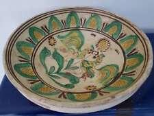 Ancien plat en terre cuite. Old terracotta dish