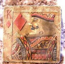 NEW plaster,concrete,abs plastic king of diamonds stepping stone mold