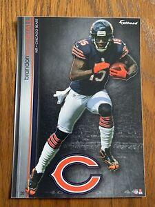 BRANDON MARSHALL 2013 Chicago Bears uni w/ Logo Fathead Mini Card #20  L@@K