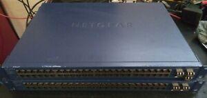 2 x NetGear GS748T w/AGM731F (x5)