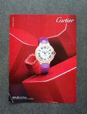 H478 - Advertising Pubblicità -2013- CARTIER , BALLON BLEU