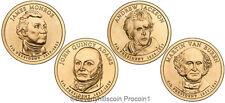2008 Presidential Dollar Coins Philadelphia Denver  8 coins