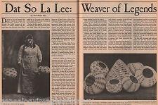 Dat-So-La-Lee -Legandary Native Indian Basket Weaver+Assu,Cohn,Lee,Morgan,Reese