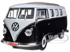 1962 VOLKSWAGEN MICROBUS BLACK 1/18 LTD TO 600PC BY ROAD SIGNATURE 82327