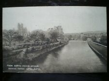 POSTCARD SOMERSET BATH FROM NORTH PARADE BRIDGE SHOWING EMPIRE HOTEL