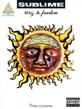 Sublime 40oz. to Freedom Sheet Music Guitar Tablature Book NEW 000120122