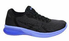 Asics Gel-kenun Negro Púrpura Bajo Con Cordones Zapatillas Para Mujer Running T7C9N 9090