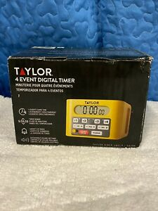 Taylor 4 Event Commercial Digital Timer