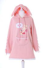 TS-131 Rosa Bunny Ears Rabbit Bunny Pastel Goth Lolita Jumper Sweatshirt Kawai