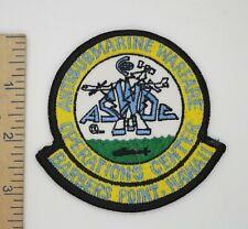 Us Navy Anti Submarine Warfare Center Patch Barbers Point Hawaii Original