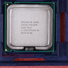 Good working Intel Pentium Dual-Core 1066 MHz 3.33 GHz LGA 775 CPU E6800 SLGUE