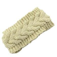 Women Crochet Headband Knit Flower Hairband Ear Warmer Winter Headwrap Fashion