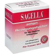 SAGELLA poligyn Reinigunstücher f.die Intimpflege 10 St