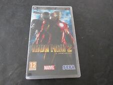 IRON MAN 2 il videogioco - GIOCO  PSP Solo Custodia e libretto NO disk