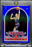 Michael Porter Jr 2018-19 Panini Chronicles Marquee Blue 82/99 Rookie RC #251