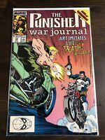 The Punisher War Journal #12 Feat. Bushwhacker Marvel Comics Dec 1989 Jim Lee VF