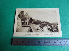 CHROMO QUINTONINE IMAGE BON-POINT PHOTO 1925-1930 ANGOULEME CHARENTES CATHEDRALE
