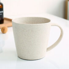 Wheatstraw Toothbrush Holder Cup Rinsing Cup Wash Tooth Mug Bathroom Set
