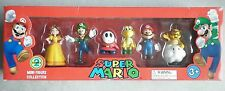 Super Mario Pack 6 Figurines Collection Daisy Lakitu Mario Luigi Koopa Maskass