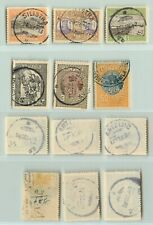 Romania 1913 Sc 230 Ii 237 used. f9722