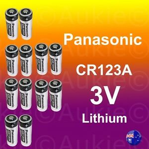 12x Panasonic CR123A Battery Netgear Arlo Security Camera VMS3330/3430/3230/3310