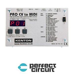 Kenton Pro CV to MIDI Eurorack Modular CONVERTER - NEW - PERFECT CIRCUIT
