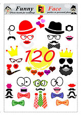 120 DIY PDF Photo Booth Printables mustaches lips bows heats glasses crowns tie