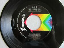 NORTHERN SOUL Barbara Acklin AM I THE SAME GIRL Be By My Side BRUNSWICK NM